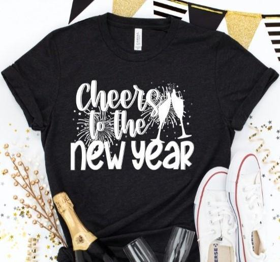 Cheers To The New Year - Tres Chic Loft, LLC