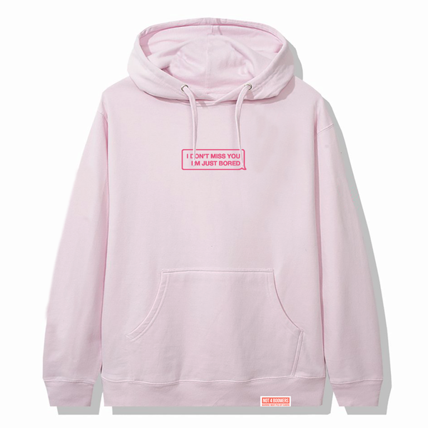 Don't Miss You Hoodie / Pink
