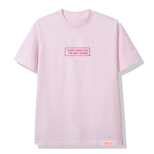 Don't Miss You Tee / Pink