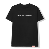 """For The Streets"" Tee / Black"