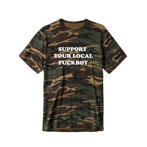 Local Boy T-Shirt Camo
