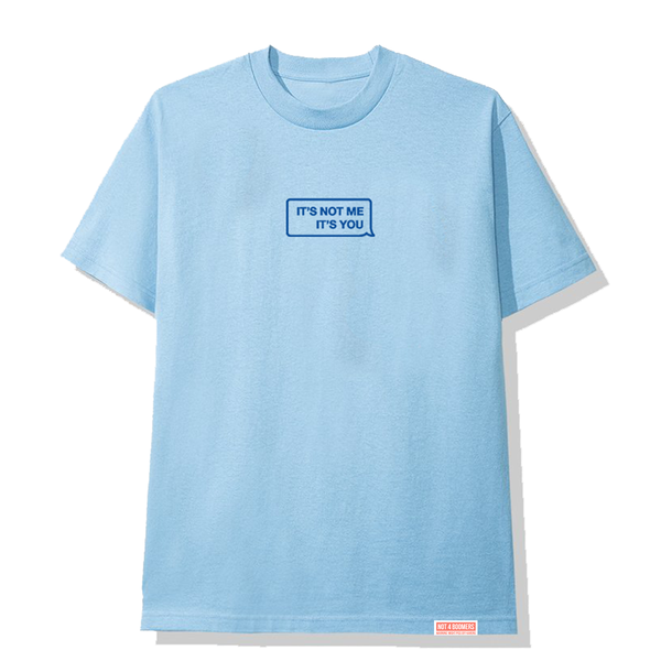 It's Not Me Tee / Blue
