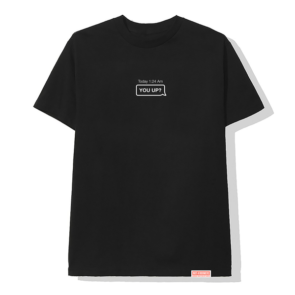 You Up? Tee / Black