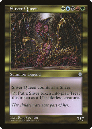 Sliver Queen [Stronghold] | Card N All Gaming