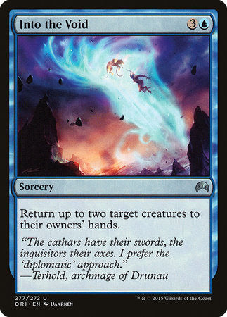 Into the Void [Magic Origins] | Card N All Gaming