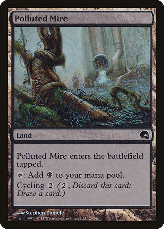 Polluted Mire [Premium Deck Series: Graveborn] | Card N All Gaming