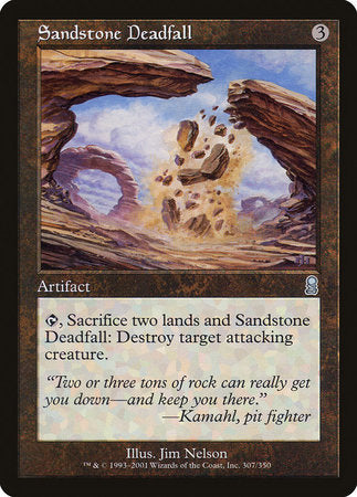 Sandstone Deadfall [Odyssey] | Card N All Gaming