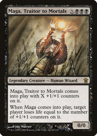 Maga, Traitor to Mortals [Saviors of Kamigawa] | Card N All Gaming