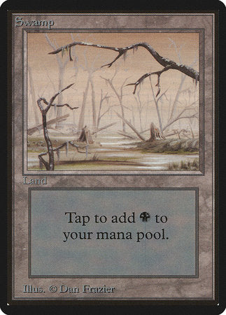 Swamp (B) [Limited Edition Beta] | Card N All Gaming