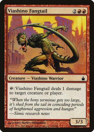 Viashino Fangtail [Ravnica: City of Guilds] | Card N All Gaming