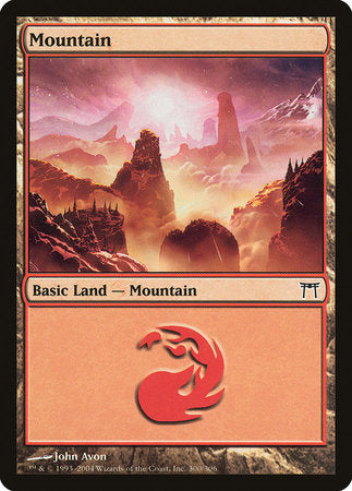 Mountain (300) [Champions of Kamigawa] | Card N All Gaming
