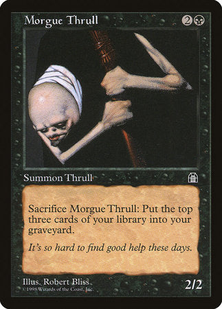 Morgue Thrull [Stronghold] | Card N All Gaming