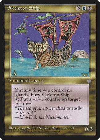 Skeleton Ship [Ice Age] | Card N All Gaming