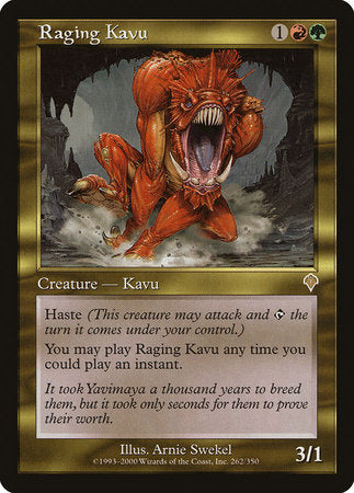 Raging Kavu [Invasion] | Card N All Gaming