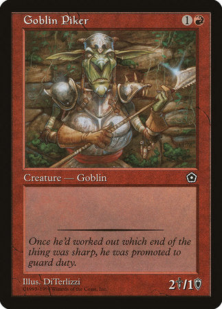 Goblin Piker [Portal Second Age] | Card N All Gaming