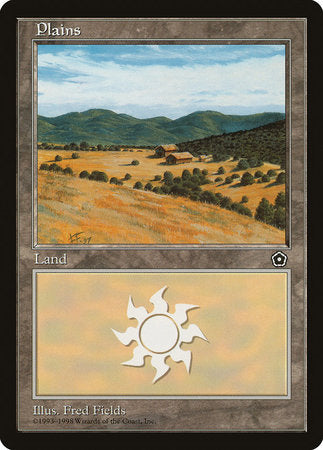 Plains (160) [Portal Second Age] | Card N All Gaming