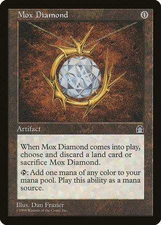 Mox Diamond [Stronghold] | Card N All Gaming