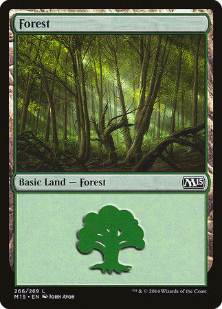 Forest (266) [Magic 2015] | Card N All Gaming