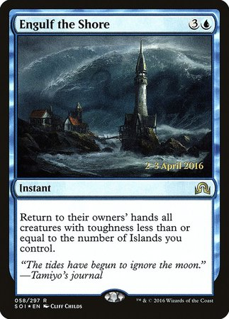Engulf the Shore [Shadows over Innistrad Promos] | Card N All Gaming
