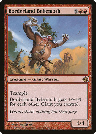 Borderland Behemoth [Morningtide] | Card N All Gaming