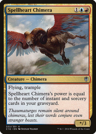 Spellheart Chimera [Commander 2016] | Card N All Gaming