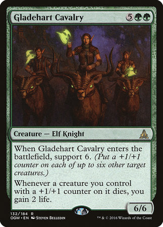 Gladehart Cavalry [Oath of the Gatewatch] | Card N All Gaming