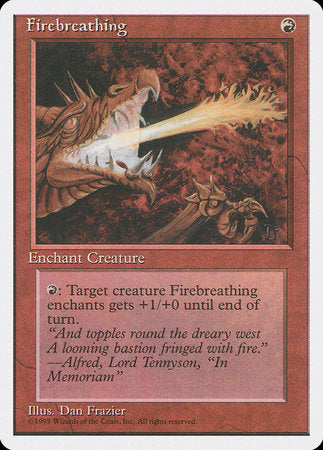 Firebreathing [Fourth Edition] | Card N All Gaming