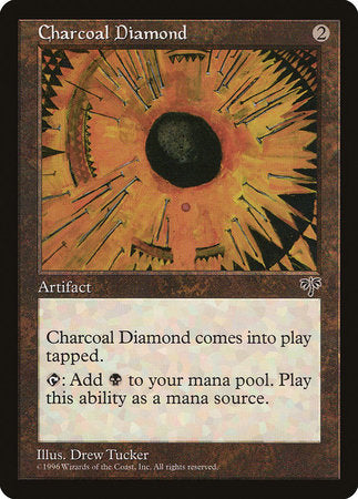 Charcoal Diamond [Mirage] | Card N All Gaming