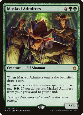 Masked Admirers [Commander Anthology] | Card N All Gaming