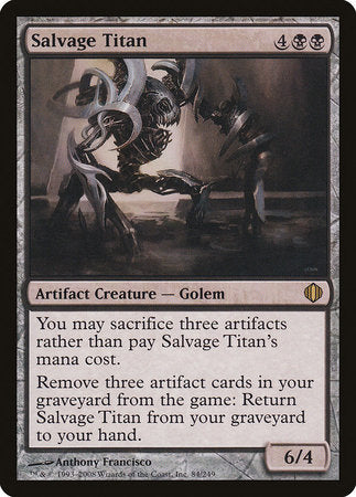 Salvage Titan [Shards of Alara] | Card N All Gaming