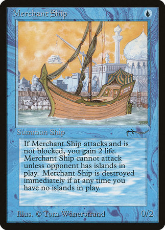 Merchant Ship [Arabian Nights] | Card N All Gaming