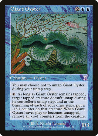 Giant Oyster [Time Spiral Timeshifted] | Card N All Gaming