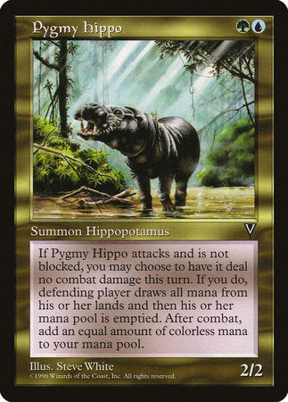 Pygmy Hippo [Visions] | Card N All Gaming