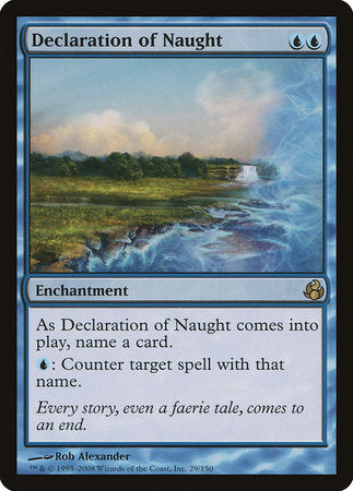 Declaration of Naught [Morningtide] | Card N All Gaming