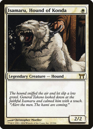 Isamaru, Hound of Konda [Champions of Kamigawa] | Card N All Gaming