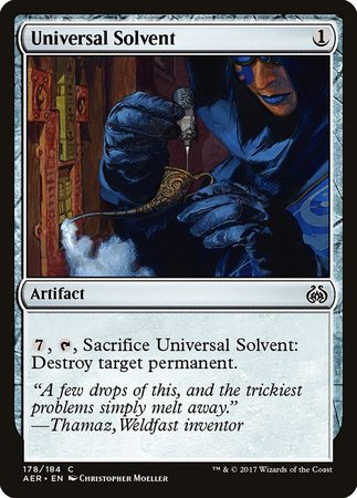 Universal Solvent [Aether Revolt] | Card N All Gaming