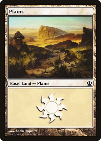 Plains (232) [Theros] | Card N All Gaming