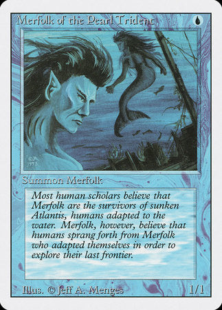 Merfolk of the Pearl Trident [Revised Edition] | Card N All Gaming