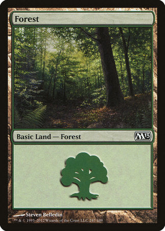 Forest (247) [Magic 2013] | Card N All Gaming