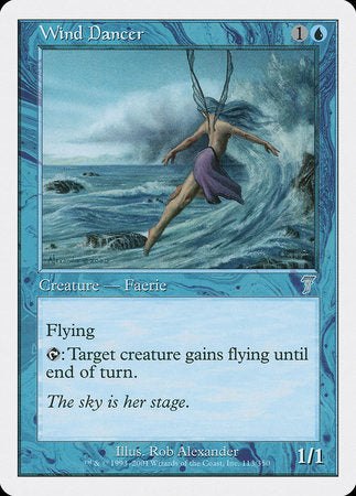 Wind Dancer [Seventh Edition] | Card N All Gaming