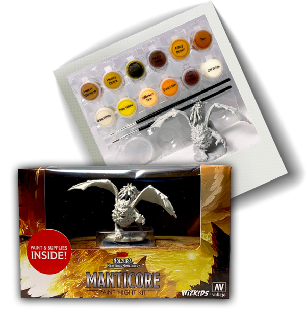 Manticore Paint Night Kit | Card N All Gaming