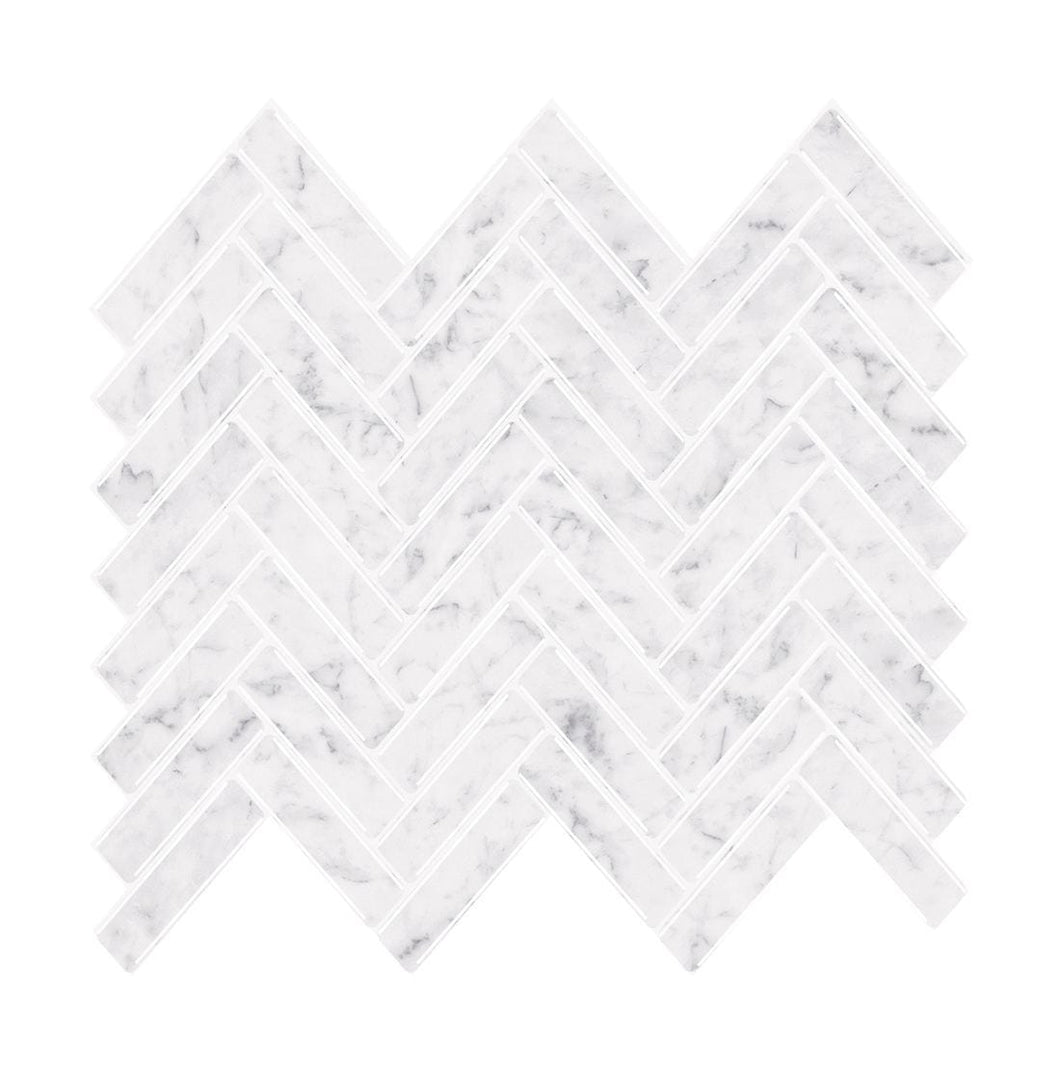 Marble Herringbone Tiles
