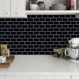 Black Subway Tiles