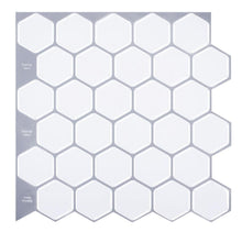 Load image into Gallery viewer, Classic Hexagon Tiles 3D Peel and Stick Tiles