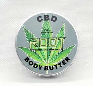 FULL SPECTRUM CBD BODY BUTTER (LAB TESTED)