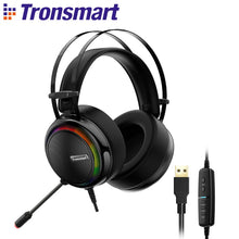 Load image into Gallery viewer, Tronsmart Glary Gaming Headset ps4 headset Virtual 7.1,USB Interface Gaming Headphones for ps4,nintendo switch,Computer,Laptop