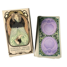 Load image into Gallery viewer, 80PCS Ethereal Visions Illuminated Tarot Tarot Cards Oracle Game Card Family Holiday Party Playing Cards English Tarot Game Card