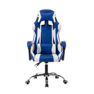 Game Computer Chair High Quality Adjustable Office Chair Leather Gaming Chair Black for Home Office Game Competitive