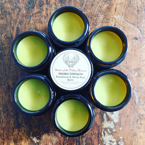 Double Strength Kawakawa & Hemp Root Balm Travel Tin 30mls
