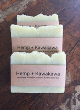 Load image into Gallery viewer, Kawakawa & Hemp Soap 100gms